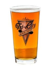 Tri-City Brewing Company glass