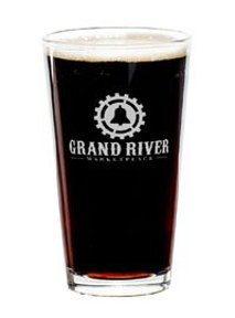 Grand River Distillery and Brewery glass