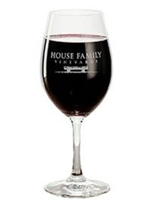 House Family Vineyards glass