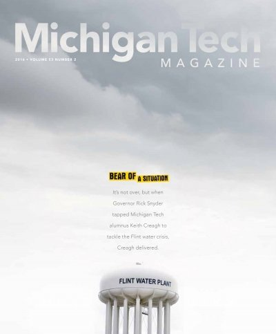 2016 Michigan Tech Magazine: Issue 2 Cover Image