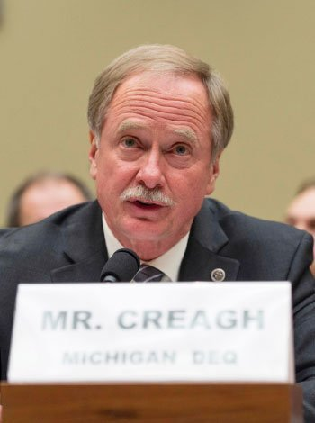 Keith Creagh testifies before the US House Oversight and Government Reform Committee February 3, 2016.