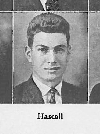 John Hascall scanned yearbook photo.