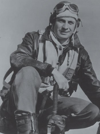 John Hascall in his pilot gear.