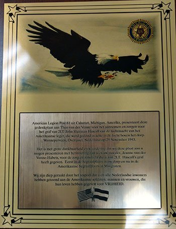 Photo of the plaque.