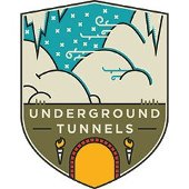 Underground tunnels icon.