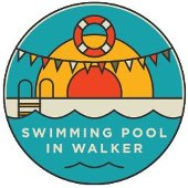 Swimming pool in Walker icon.