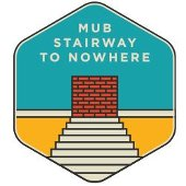 MUB stairway to nowhere icon.
