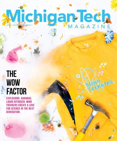 2017 Michigan Tech Magazine: Issue 1 Cover Image