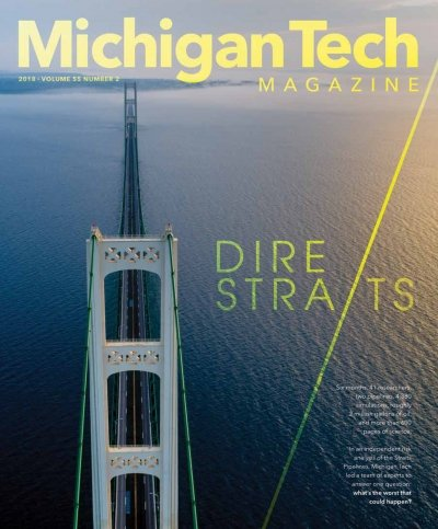 2018 Michigan Tech Magazine: Issue 2 Cover Image