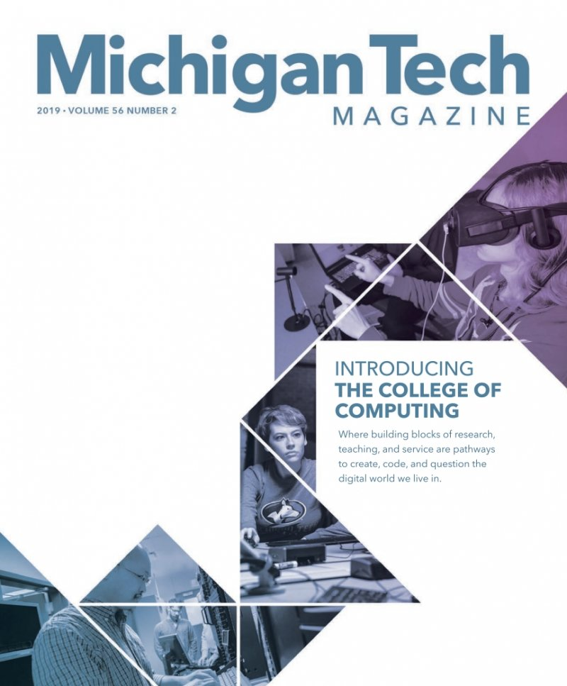2019 Michigan Tech Magazine: Issue 2 Cover Image