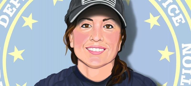 Illustration of Nicole Lopez.
