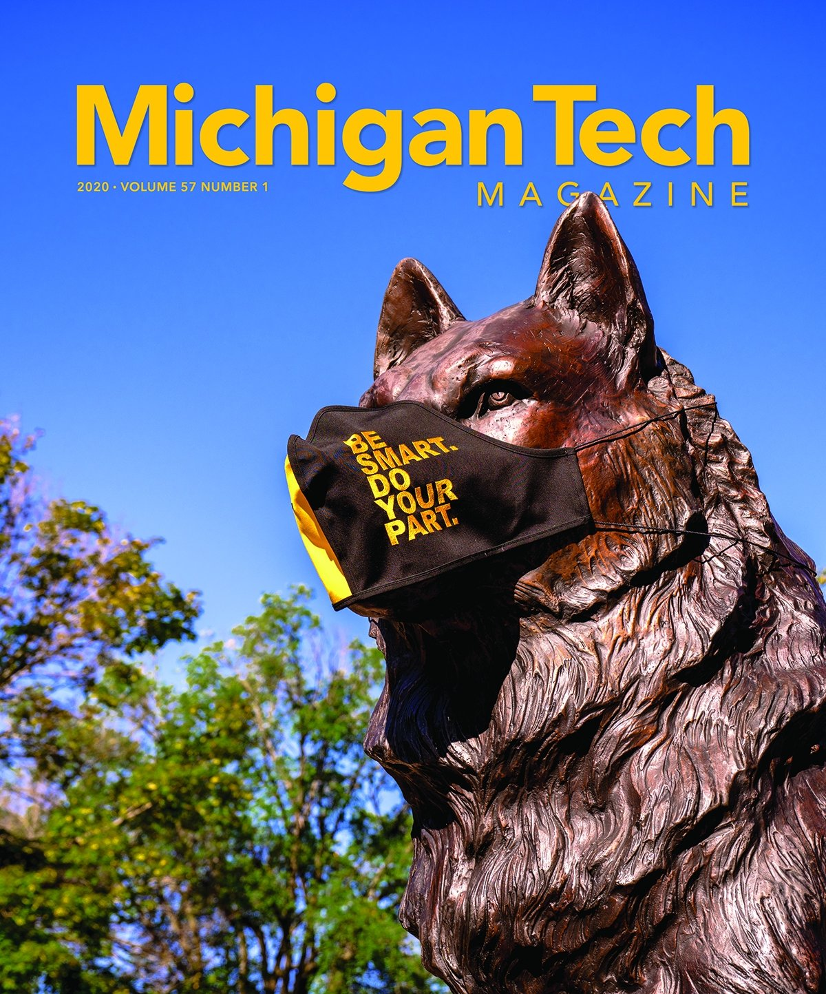 2020 Michigan Tech Magazine Cover Image