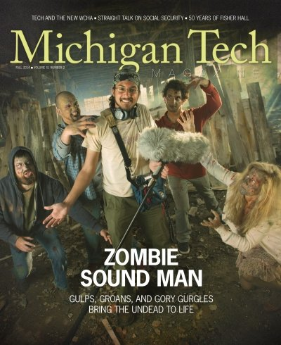 Fall 2014 Michigan Tech Magazine Cover Image