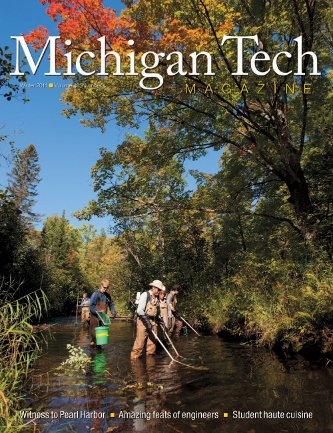 Michigan Tech Magazine Winter 2011-12 Cover