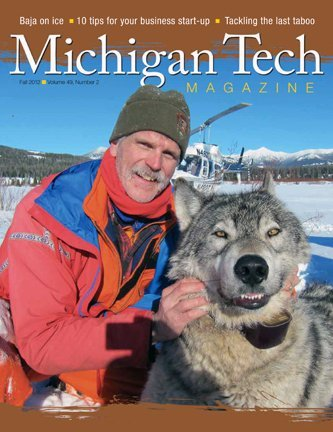 Michigan Tech Magazine Fall 2012 Front Cover
