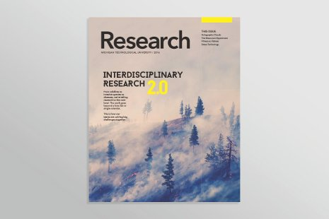 Photo of Research Magazine cover