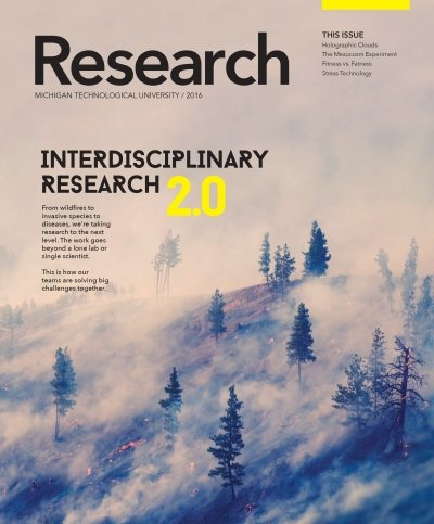 2016 Research Magazine Cover Image