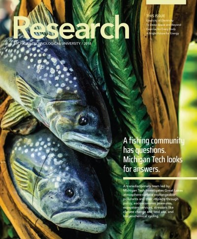 2018 Research Magazine Cover Image
