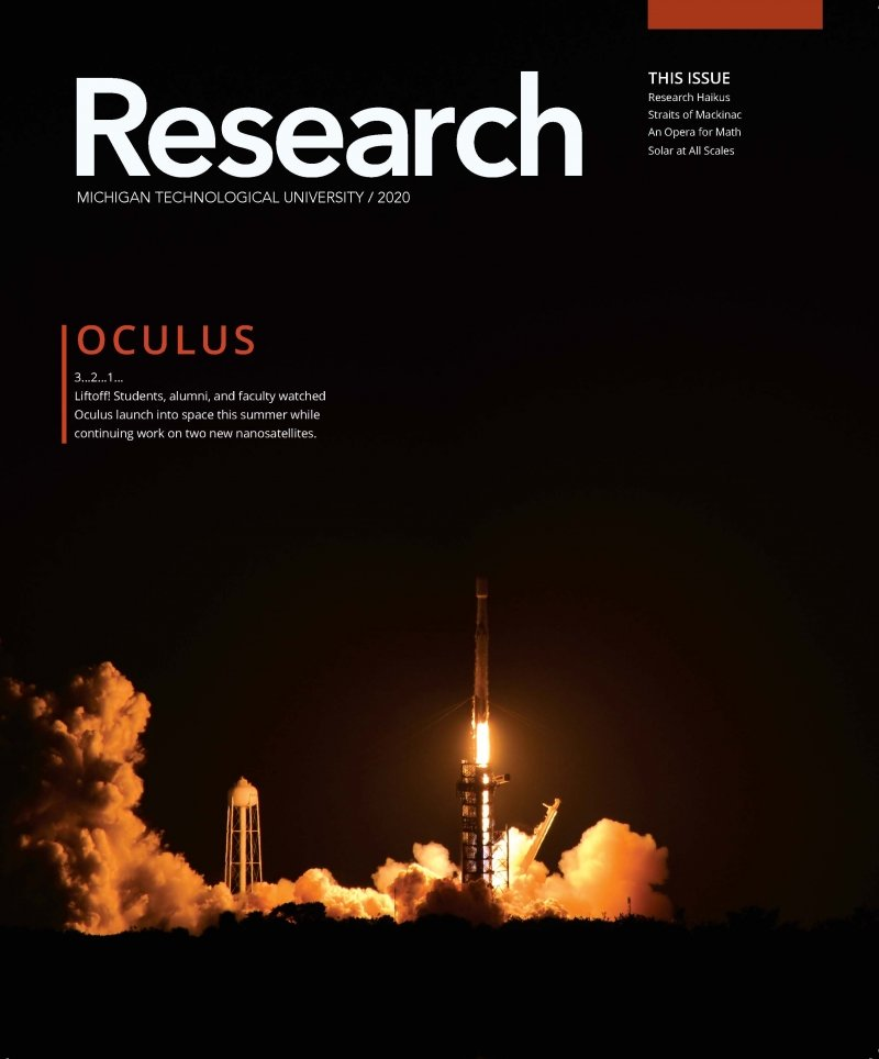 2020 Research Magazine Cover Image