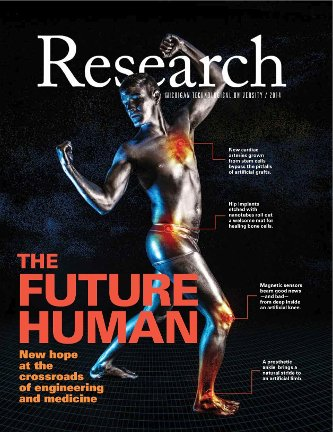 Research Magazine Cover 2014 Image