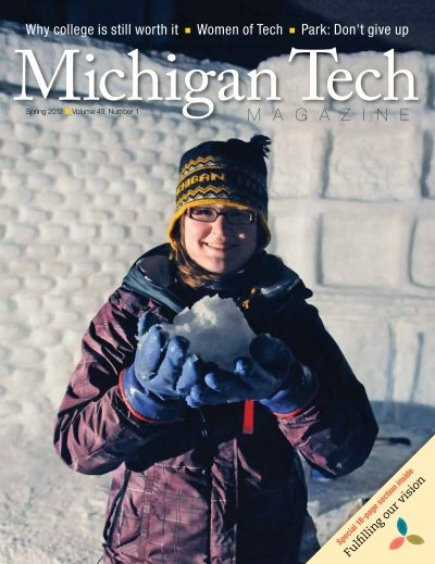 Spring 2012 Michigan Tech Magazine cover image