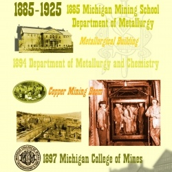 1885-1925: Department of Metallurgy and Chemistry