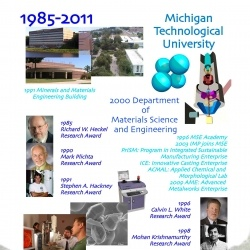 1985-Present: Department of Materials Science and Engineering