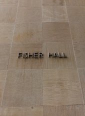 Exterior of Fisher Hall