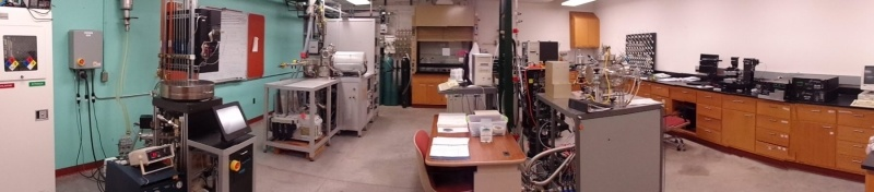 Etching and Characterization room
