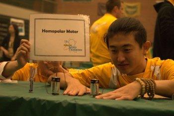 Homopolar Motor demo