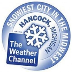 Snowiest City in the Midwest logo