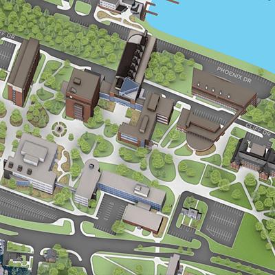 Michigan Tech Campus Map