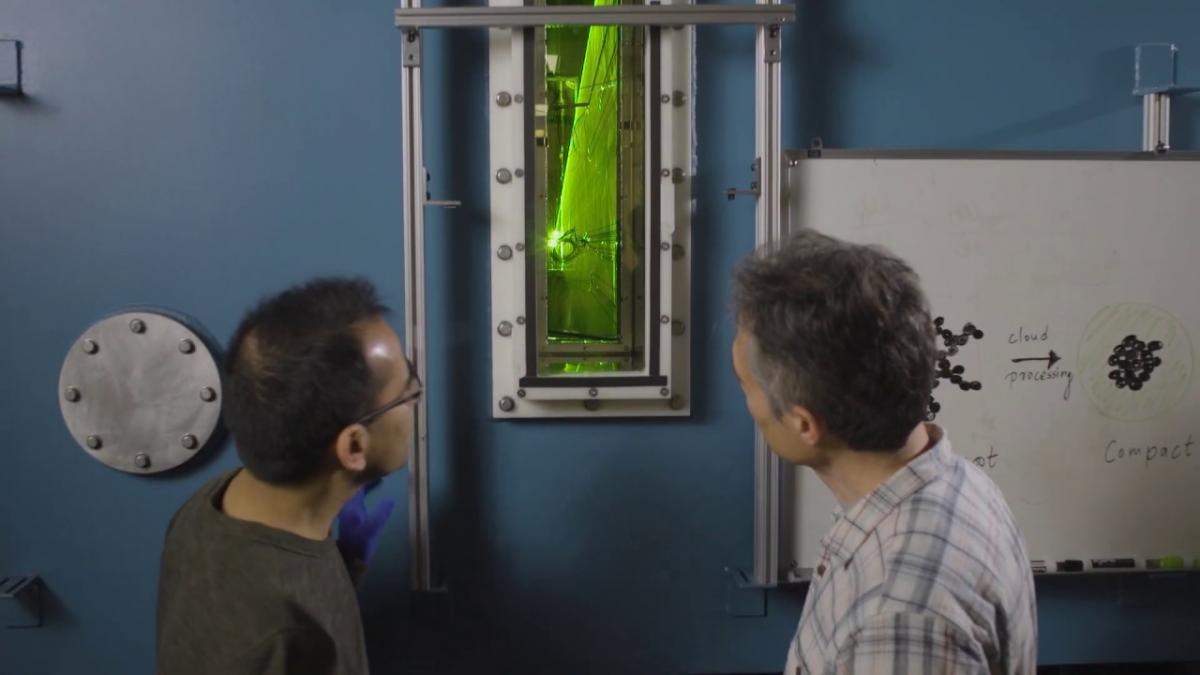 Preview image for Studying Soot Compaction in the Cloud Chamber video