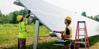 The village of L'Anse installed a 340-panel, 110.5 kilowatt community solar array       last summer with help from Michigan Tech and other partners.