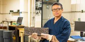 Zhanping You is the winner of the 2019 Research Award at Michigan Tech.