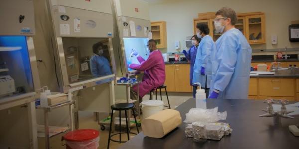 Michigan Tech Opens COVID-19 Testing Lab