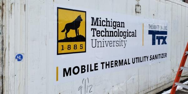 MTU Engineers Build Mobile Unit to Clean COVID-19 PPE