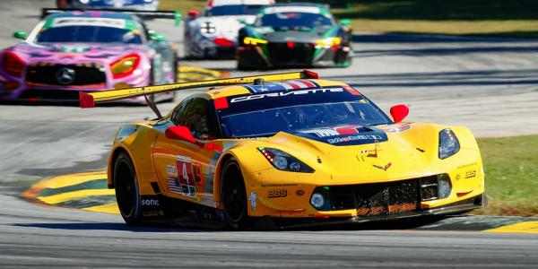 Ben Johnson is a program director for Corvette Racing.
