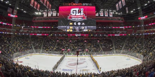 Michigan Tech will host the 55th annual Great Lakes Invitational on December 30-31,       2019 at Little Caesars Arena in Detroit.