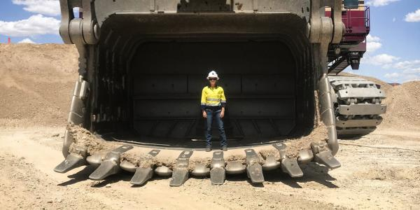 Shawn vanDoorn graduates in May 2020 with Michigan Tech's revamped mining engineering       degree.