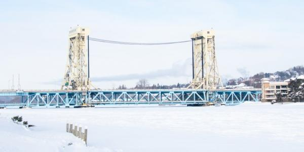 Bridges like those in the Keweenaw will be less impacted by sea level rise than others.
