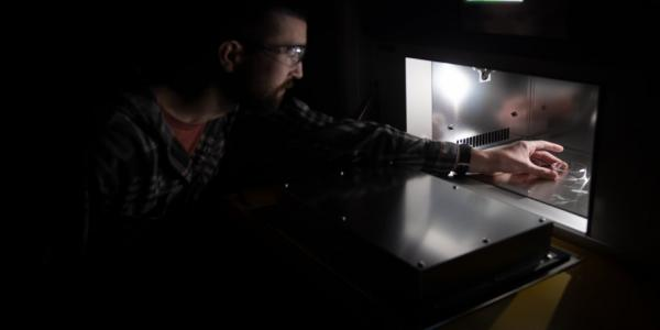 A sunlight simulator is now available to researchers at Michigan Technological University       through the Research Excellence Fund – Infrastructure Enhancement (REF-IE) grant.