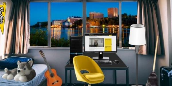 Summer Youth Programs like Calling All Writers created a virtual residence hall experience       for students with interactive features to help them learn more about campus life.