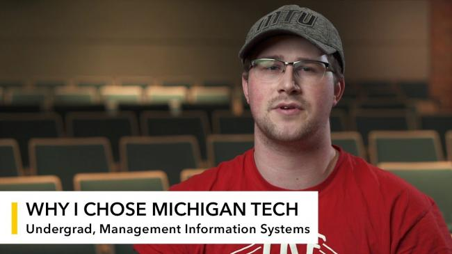 Preview image for My Michigan Tech: Ian Cox video