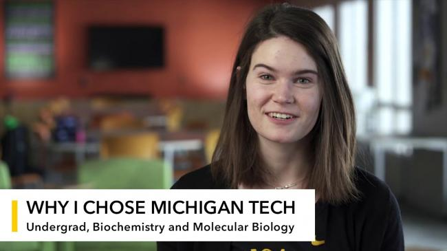 Preview image for My Michigan Tech: Elise Cheney Makens video