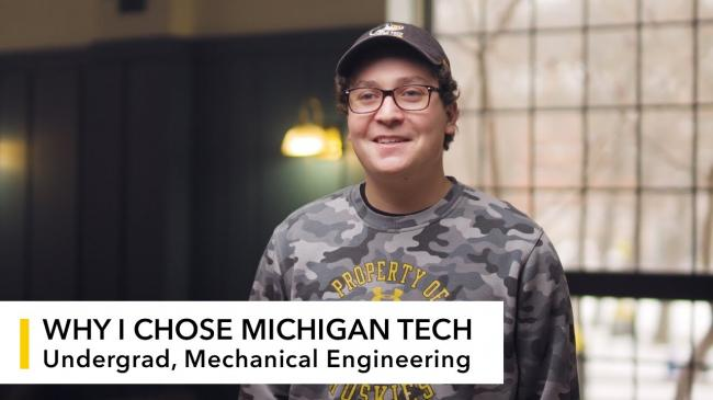 Preview image for My Michigan Tech: Ray Coyle video