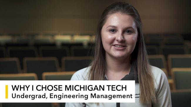 Preview image for My Michigan Tech: Emma LaFleur video