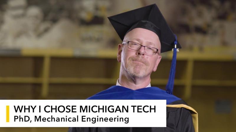 Preview image for My Michigan Tech: John Salvato video