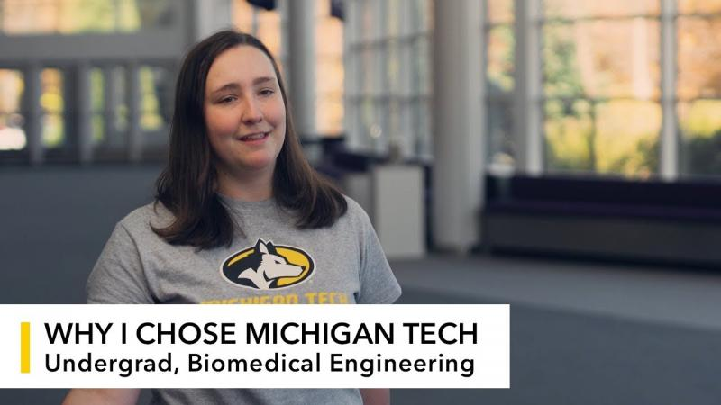 Preview image for My Michigan Tech: Katherine Gingras video