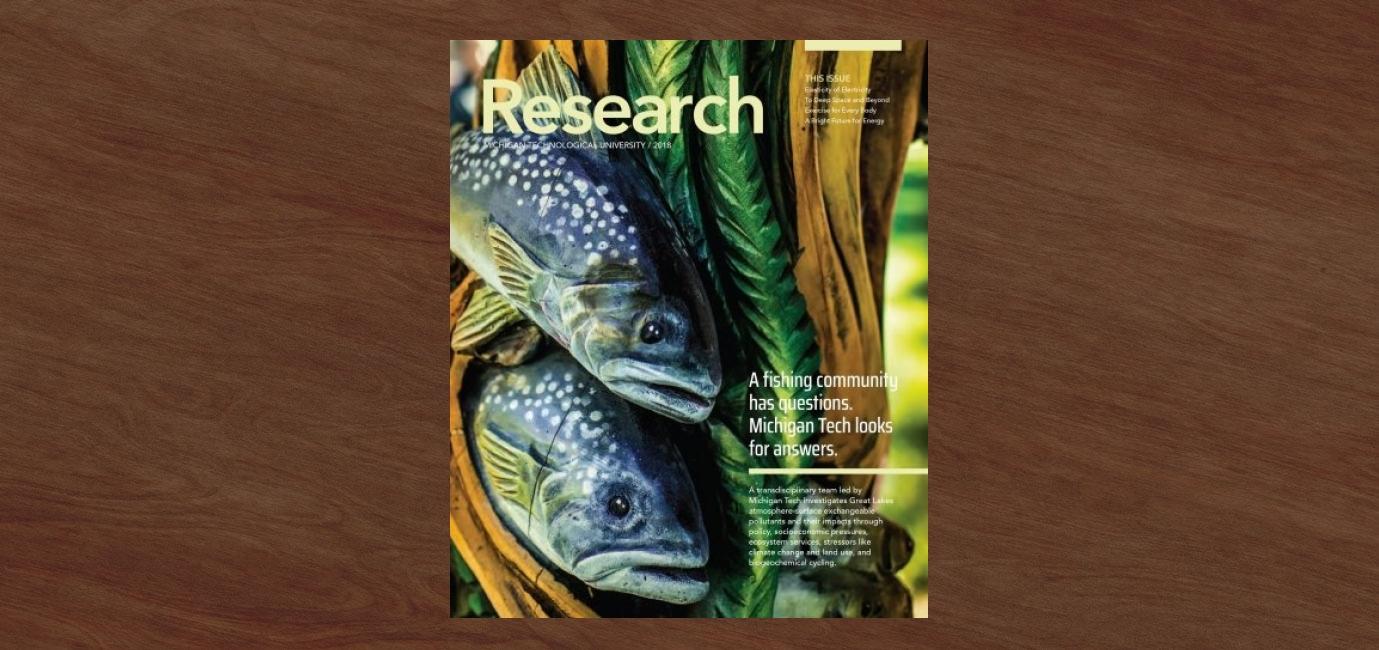 The 2018 Michigan Tech Research Magazine | UMC | Michigan Tech
